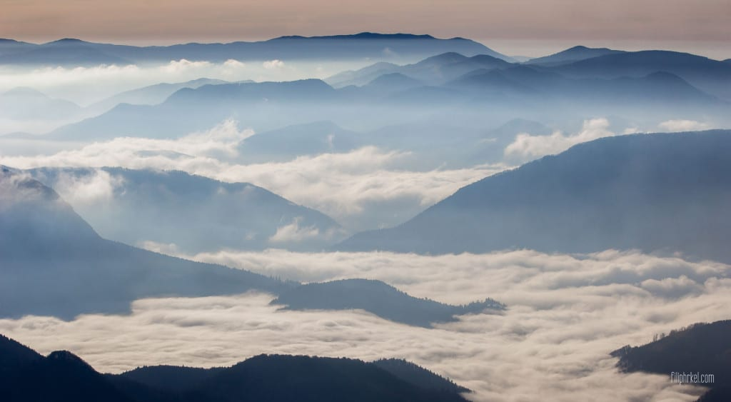 Morning Inversion, Slovakia