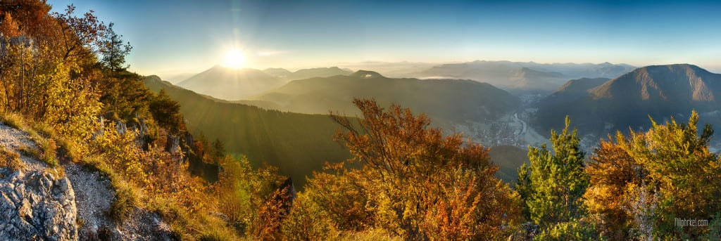 Panorama zo Sipu, Slovakia