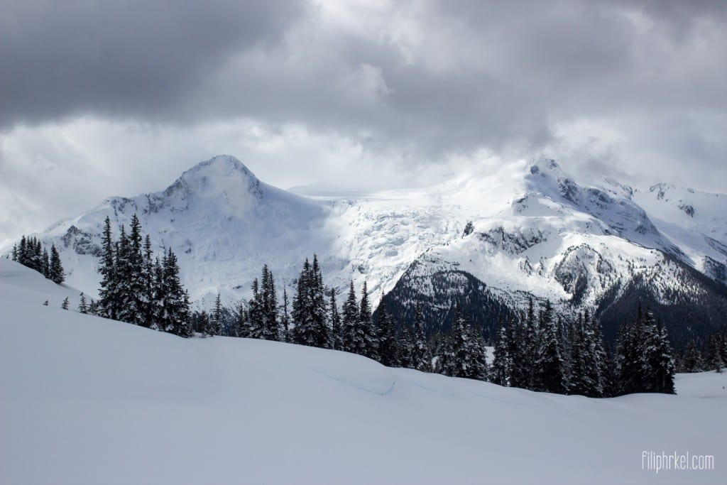 Glaciers around Whistler, British Columbia, Canada
