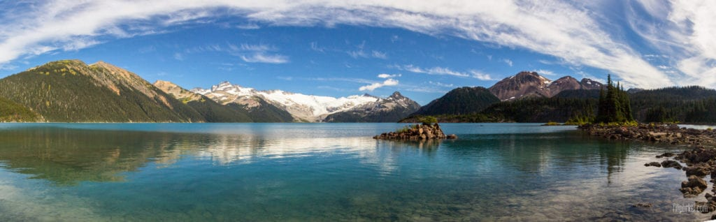 Garibaldi Lake Panorama, British Columbia, Canada