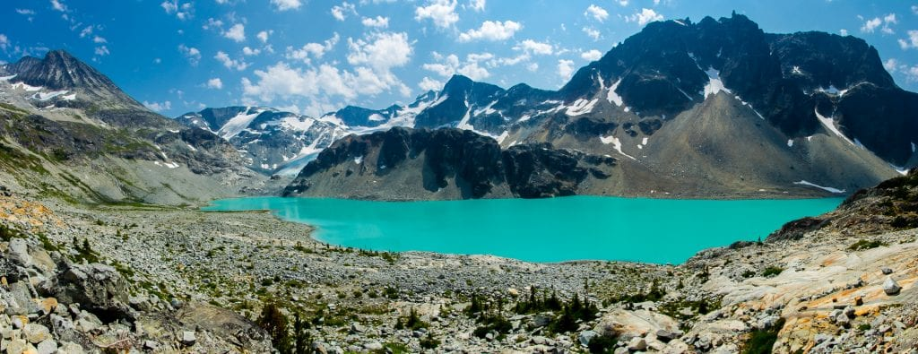 Wedgemount Lake, British Columbia, Canada